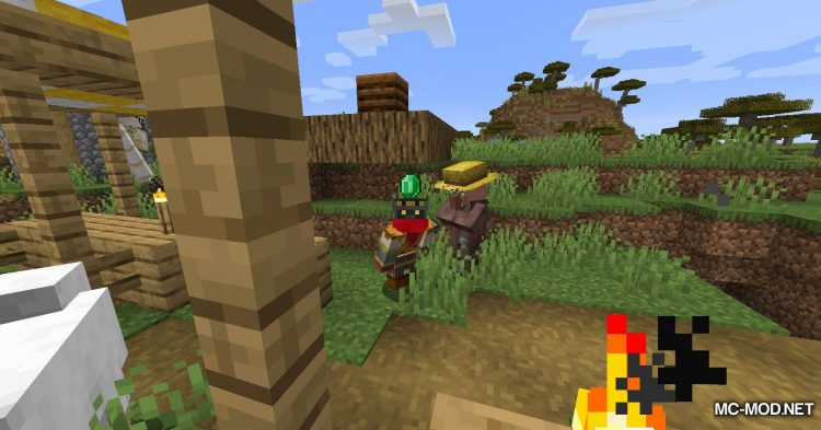 Everything is a Hat mod for Minecraft (9)