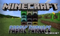 Fabric Furnace mod for Minecraft logo