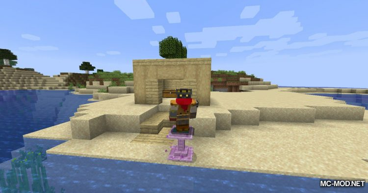 Fancy Fountain Passage mod for Minecraft (11)