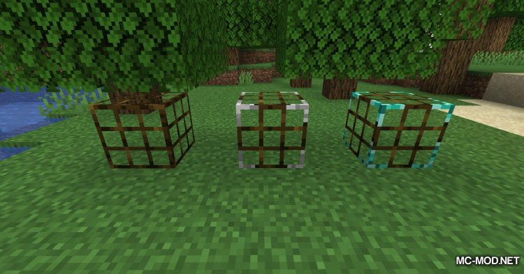Fish Traps mod for Minecraft (12)