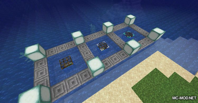 Fish Traps mod for Minecraft (15)
