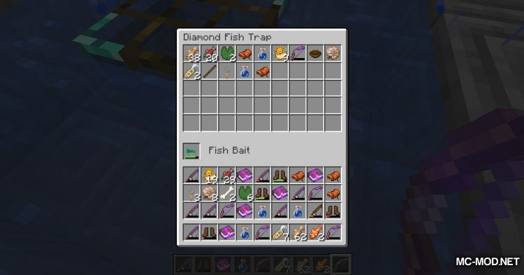 Fish Traps mod for Minecraft (16)