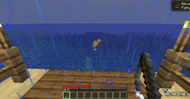 Fish Traps mod for Minecraft (4)