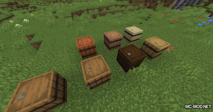 I Like Wood mod for Minecraft (7)