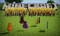 Ignition EnderBags mod for Minecraft logo