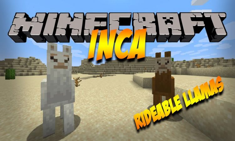 Inca mod for Minecraft logo