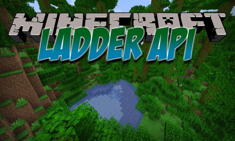Ladder API mod for Minecraft logo
