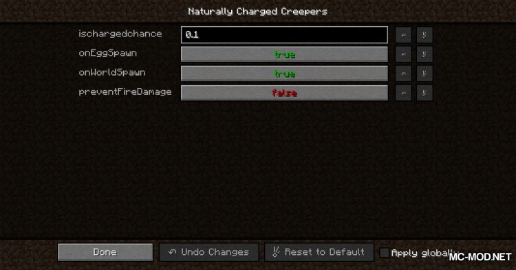 Naturally Charged Creepers mod for Minecraft (11)