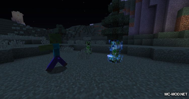Naturally Charged Creepers mod for Minecraft (3)