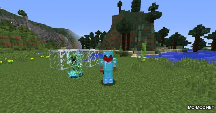 Naturally Charged Creepers mod for Minecraft (8)