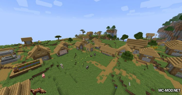 Over Populated mod for Minecraft (4)