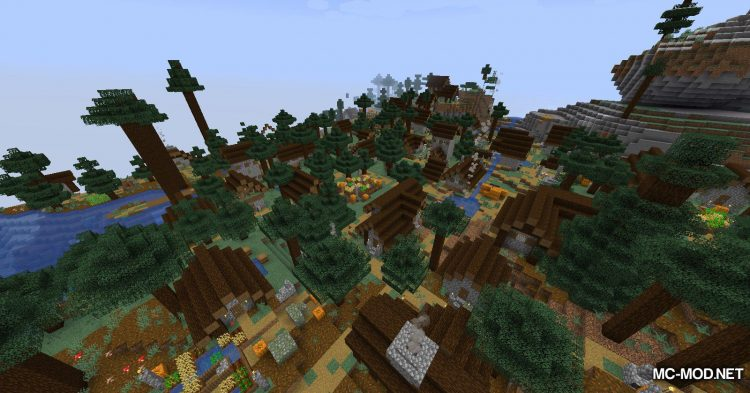 Over Populated mod for Minecraft (8)
