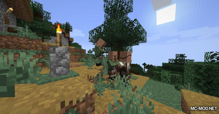 Over Populated mod for Minecraft (9)