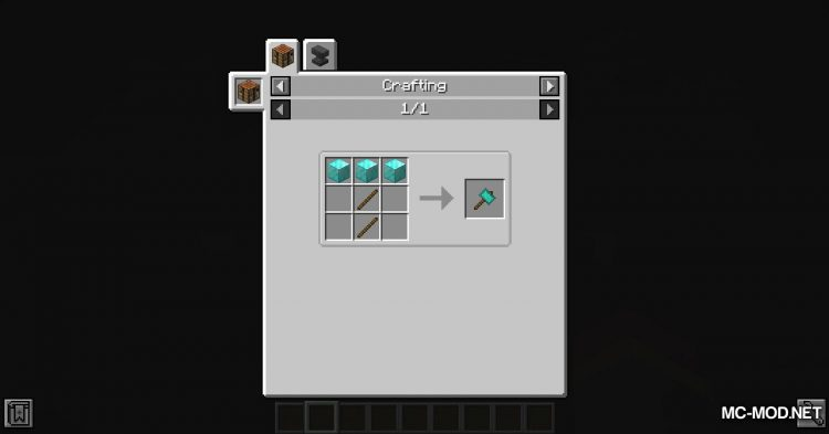 Practical Tools mod for Minecraft (14)