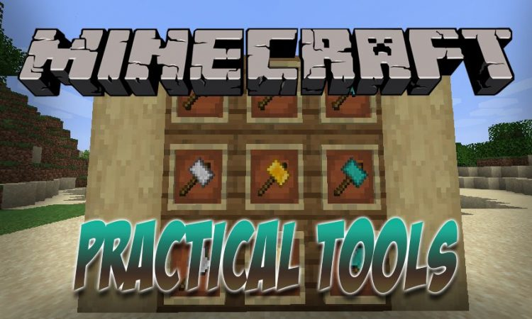 Practical Tools mod for Minecraft logo