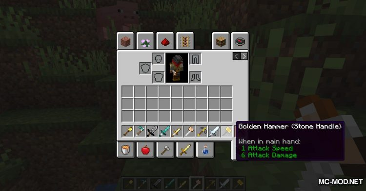 Tool Builder mod for Minecraft (15)