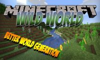 Wild World mod for Minecraft logo