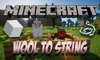 WoolToString mod for Minecraft logo