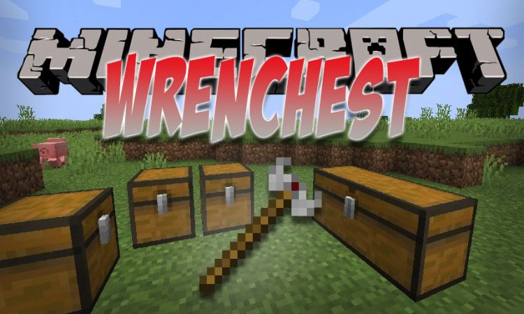 Wrenchest mod for Minecraft logo