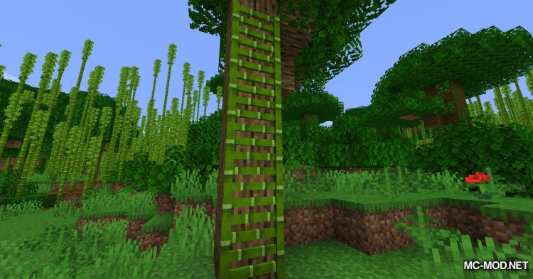 Bamboo Everything mod for Minecraft (7)