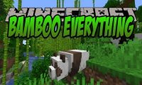 Bamboo Everything mod for Minecraft logo