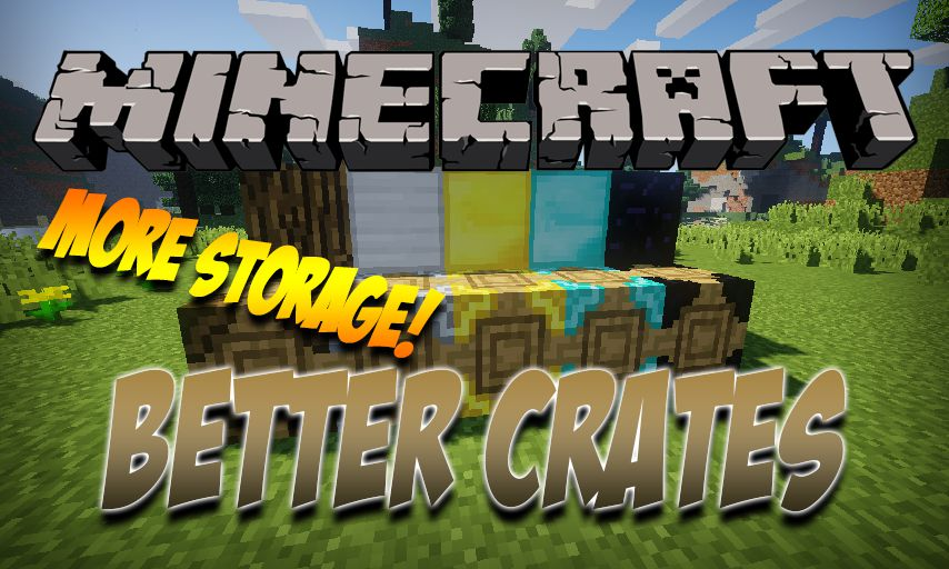 Better Crates mod for Minecraft logo