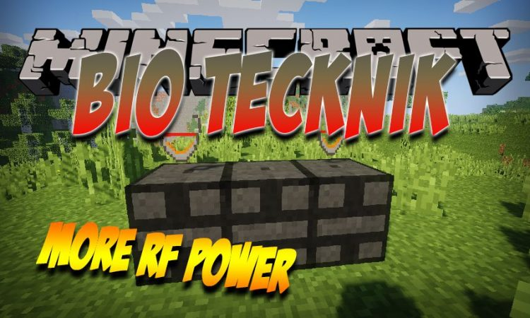 Bio Technik mod for Minecraft logo