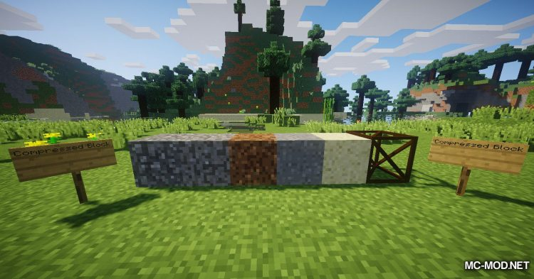 Compressed Utilities mod for Minecraft (9)