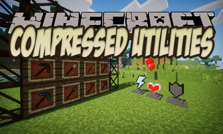 Compressed Utilities mod for Minecraft logo