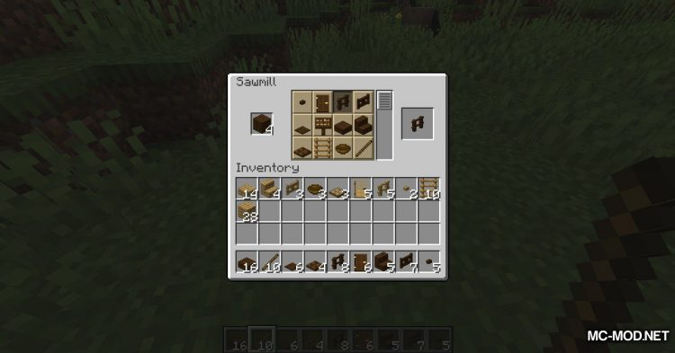 Corail Woodcutter mod for Minecraft (10)