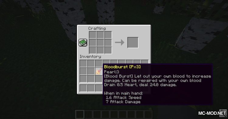 DivineWeapon mod for Minecraft (17)