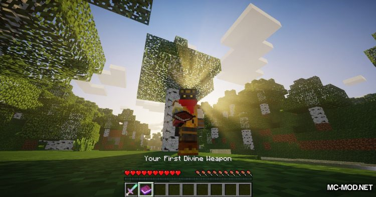 DivineWeapon mod for Minecraft (3)