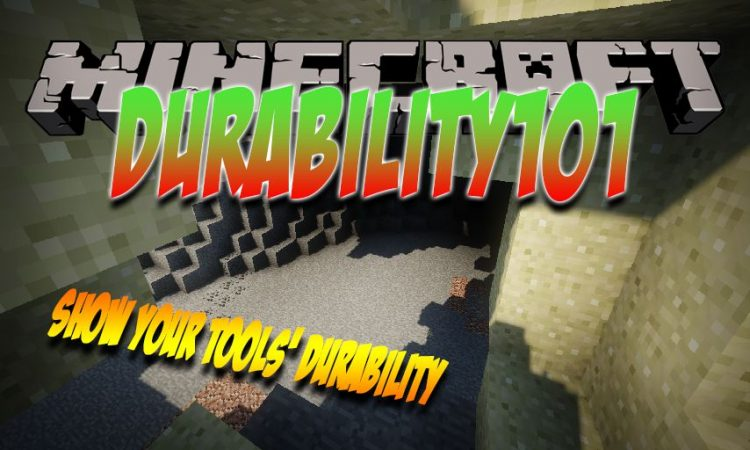 Durability101 mod for Minecraft logo