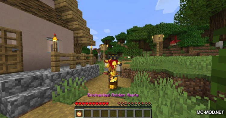 Enchanted Golden Apple Crafting mod for Minecraft (10)