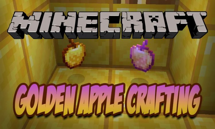 Enchanted Golden Apple Crafting mod for Minecraft logo