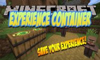 Experience Container mod for Minecraft logo