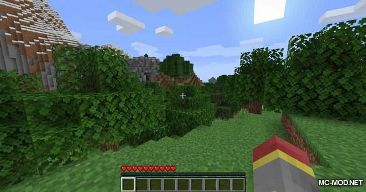 Hunger Remover mod for Minecraft (2)