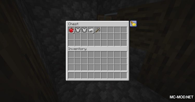 Inventory Sorting mod for Minecraft (7)
