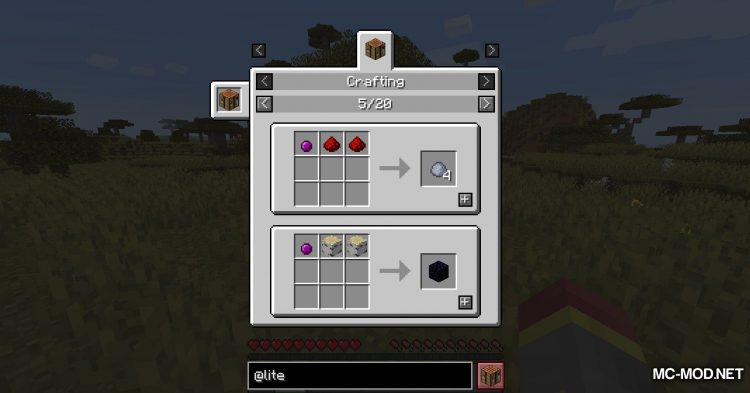 Lite Conversion mod for Minecraft (14)