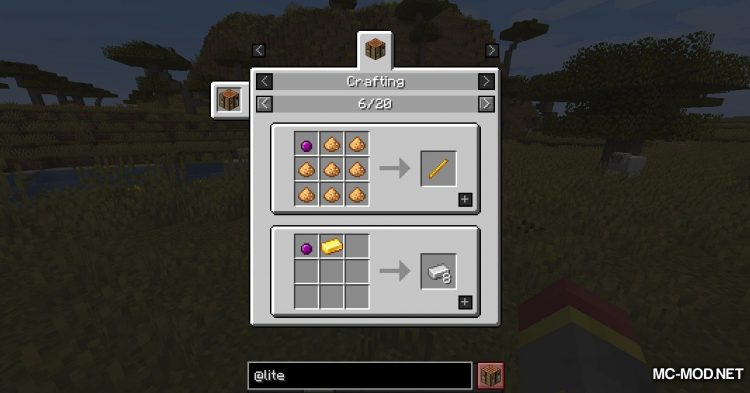 Lite Conversion mod for Minecraft (9)