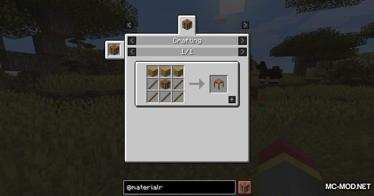 Materialisation mod for Minecraft (2)