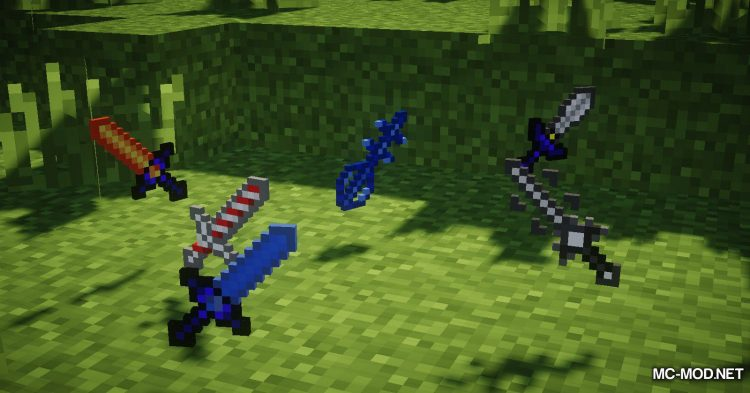 More Swords Legacy mod for Minecraft (22)
