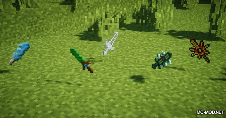 More Swords Legacy mod for Minecraft (6)