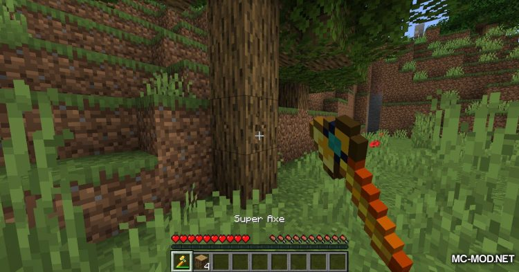 SuperTools mod for Minecraft (9)