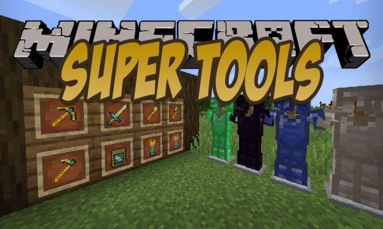 SuperTools mod for Minecraft logo