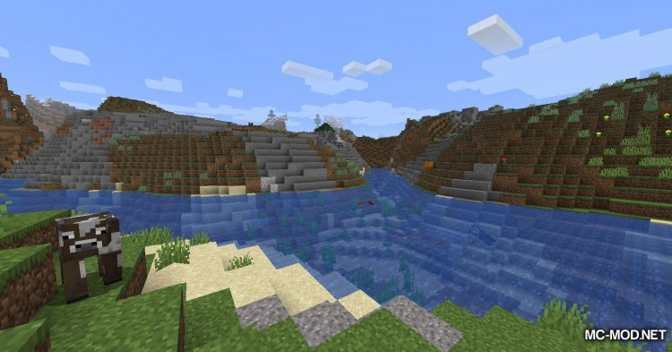 Template mod for Minecraft (2)