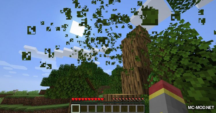 Trees Do Not Float mod for Minecraft (4)