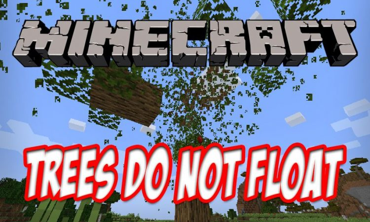 Trees Do Not Float mod for Minecraft logo