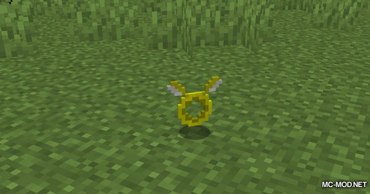 Angel Ring mod for Minecraft (5)