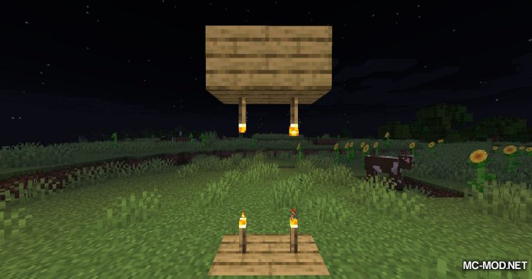 Ceiling Torch mod for Minecraft (11)